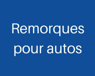 Remorques pour auto