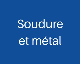 Soudure et métal