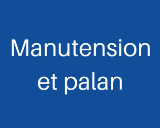 Manutention et palan
