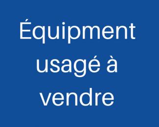 Équipment usagé à vendre